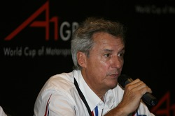 Press conference: Jean Paul Driot, Seat Holder of A1Team France