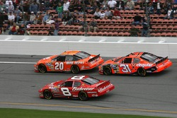 Tony Stewart, Dale Earnhardt Jr. and Jeff Burton