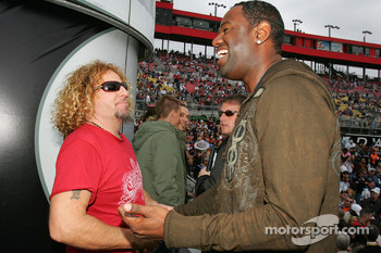 Sammy Hagar and Brian McKnight