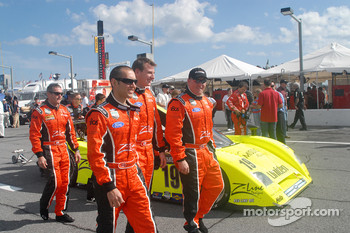 Bobby Labonte, Michael Valiante, Michael McDowell and Rob Finlay