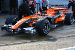 Markus Winkelhock, Test Driver, Spyker F1 Team, F8-VII
