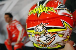 Helmet of Loris Capirossi