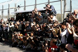 Photographers at Super Aguri