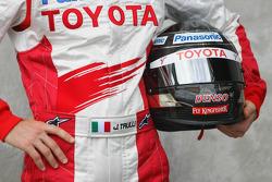 Jarno Trulli, Toyota Racing, helmet