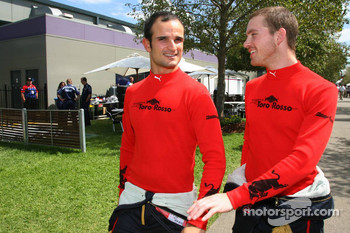 Vitantonio Liuzzi, Scuderia Toro Rosso and Scott Speed, Scuderia Toro Rosso