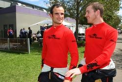 Vitantonio Liuzzi, Scuderia Toro Rosso and Scott Speed, Scuderia Toro Rosso