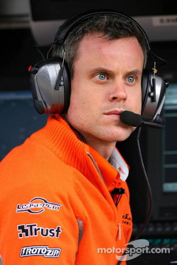 James Robinson, Spyker F1 Team, Chief Engineer