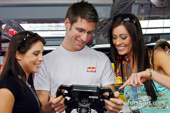 Michael Ammermuller, Test Driver, Red Bull Racing and Formula Una girls