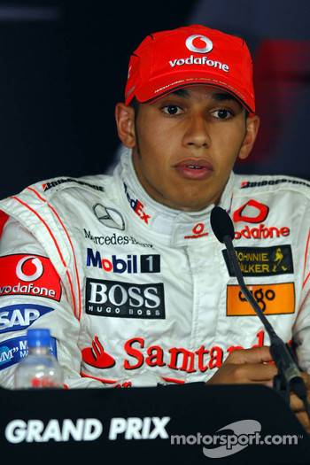 Press conference: Lewis Hamilton