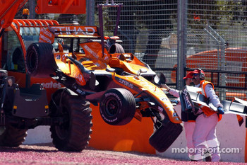 Christijan Albers, Spyker F1 Team after the stop