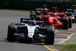 Alexander Wurz, Williams F1 Team, Felipe Massa, Scuderia Ferrari