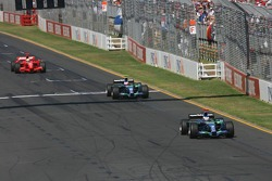 Jenson Button, Honda Racing F1 Team, Rubens Barrichello, Honda Racing F1 Team