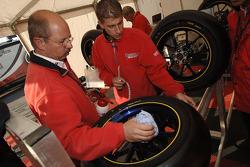 Bridgestone team members at work