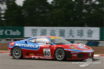 #50 AF Corse Motorola Ferrari 430 GT2: Toni Vilander, Dirk Muller