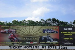Commercial Advertisement of Malaysian F1 GP