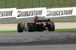 New Bridgestone Tire marking - Takuma Sato, Super Aguri F1