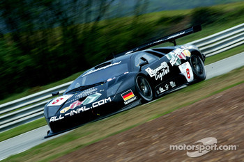 #8 All-Inkl.com Racing Lamborghini Murcilago: Jos Menten, Peter Kox