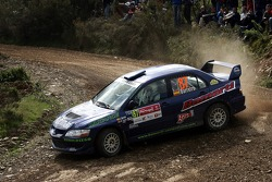Jose Barreiro and Manuel Fuentes, Mitsubishi Lancer Evolution VIII