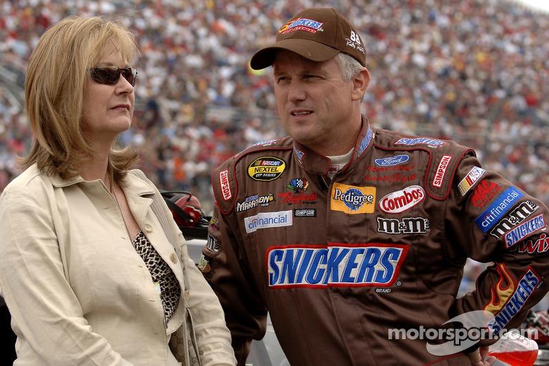Ricky Rudd and wife Linda