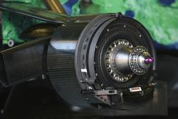 Honda technical front brake disc