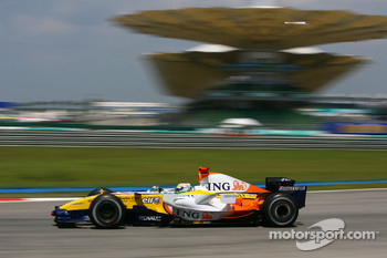 Giancarlo Fisichella, Renault F1 Team, R27