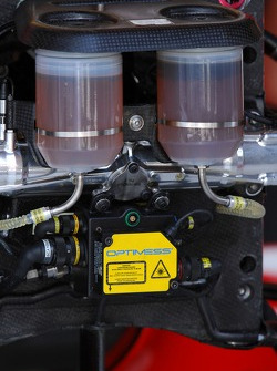 Ferrari technical brake fluid detail
