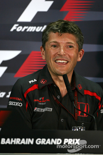 FIA press conference: Nick Fry, Honda Racing F1 Team, Chief Executive Officer