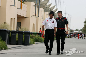 Aguri Suzuki, Super Aguri F1 and Nick Fry, Honda Racing F1 Team, Chief Executive Officer