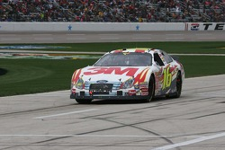 Greg Biffle coast in with no power