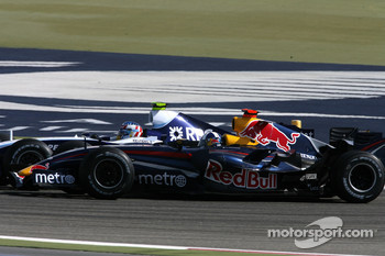 David Coulthard, Red Bull Racing, RB3 , Alexander Wurz, Williams F1 Team, FW29