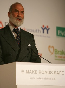 UN Rally for Safer Roads, HRH Prince Michael of Kent