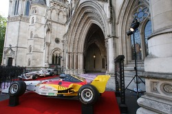 Car of Team Germany in the entrance area