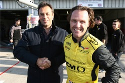 GT1 and overall pole winners Jean-Denis Deletraz and Mike Hezemans