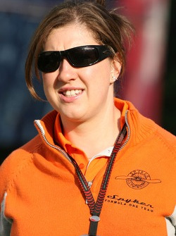 Lucy Nell, Spyker F1 Team, Press Officer