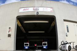 A.J. Foyt Enterprises team area