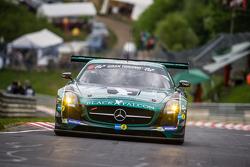 #5 Black Falcon Mercedes-Benz SLS AMG GT3: Abdulaziz Al Faisal, Hubert Haupt, Yelmer Buurman, Jaap van Lagen