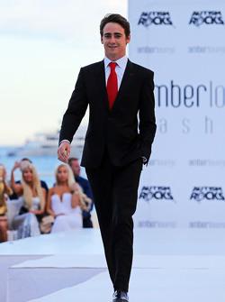 Esteban Gutierrez, Ferrari Test and Reserve Driver at the Amber Lounge Fashion Show