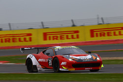 #20 Akka ASP Ferrari 458 Italia: Jean-Luc Beaubelique, Philippe Giauque, Morgan Moulin Traffort