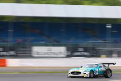 #98 Team Astana by Rowe Mercedes SLS AMG GT3: Nicolai Sylvest, Indy Dontje, Daniel Juncadella