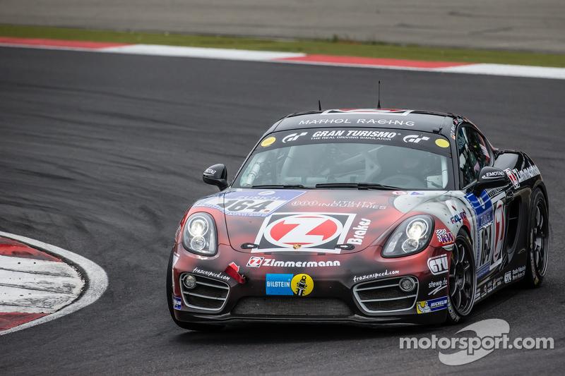 #164 Mathol Racing Porsche Cayman: Claudis Karch, Ivan Jacoma