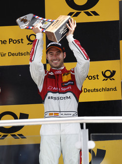 Podium: 3rd Miguel Molina, Audi Sport Team Abt Audi RS 5 DTM