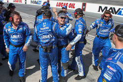 The Hendrick Motorsports crew celebrates