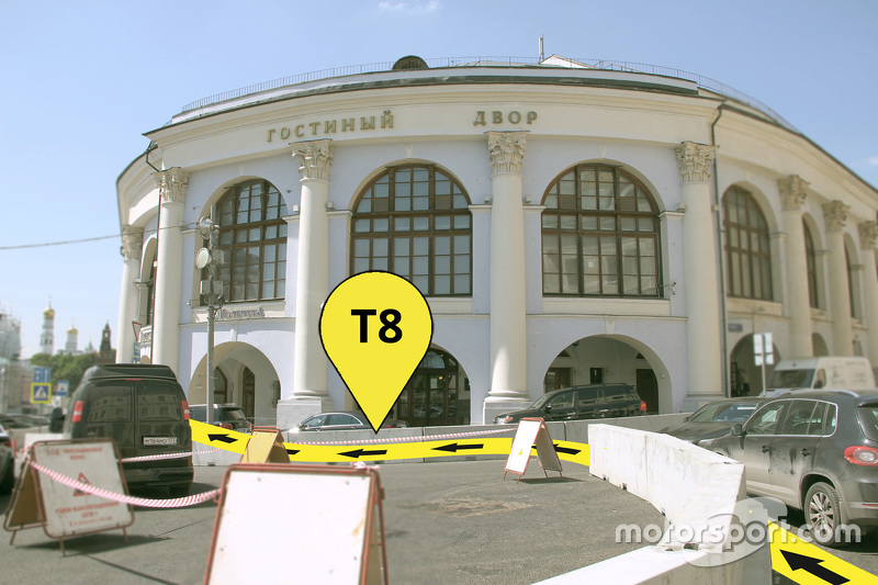 Трасса Формулы Е в Москве