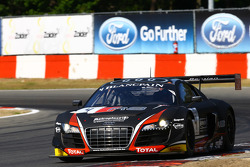 #4 Belgian Audi Club Team WRT Audi R8 LMS Ultra: Frank Stippler, James Nash