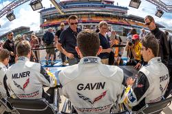 Corvette Racing: Jordan Taylor, Oliver Gavin, Tommy Milner