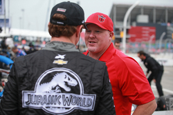 Paul Tracy and Scott Dixon, Chip Ganassi Racing Chevrolet