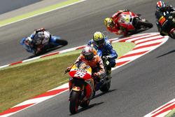 Dani Pedrosa, Repsol Honda and Aleix Espargaro, Team Suzuki MotoGP