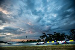 #8 Audi Sport Team Joest Audi R18 e-tron quattro: Lucas di Grassi, Loic Duval, Oliver Jarvis, #37 SMP Racing BR01: Mikhail Aleshin, Kirill Ladygin, Anton Ladygin
