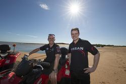Lee Holdsworth, Walkinshaw Performance Holden and James Moffat, Nissan Motorsport go four-wheeling