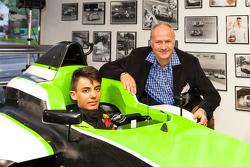 Moritz Mueller-Crepon, Jenzer Motorsport and Andreas Jenzer